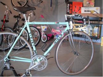 Stolen Mint Green Miele Road Bike W Green Handlebar Tape