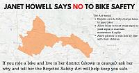 Click image for larger version.  Name:JANET HOWELL SAYS NO TO BIKE SAFETY.jpg Views:41 Size:20.8 KB ID:23595