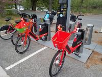 Click image for larger version.  Name:JUMP bikes parked in Capital Bikeshare station - Roosevelt Island - April 17 2021 - 1.jpg Views:43 Size:20.5 KB ID:25302