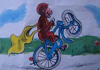 Click image for larger version.  Name:George+rides+on+back+wheel.jpg Views:105 Size:62.3 KB ID:12658